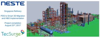 Neste singapore refinery project completion