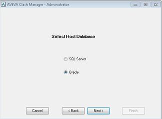 Clash manager works with either microsoft sql server or oracle database